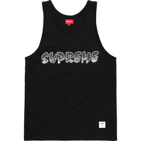 Supreme Splatter Tank Top Black