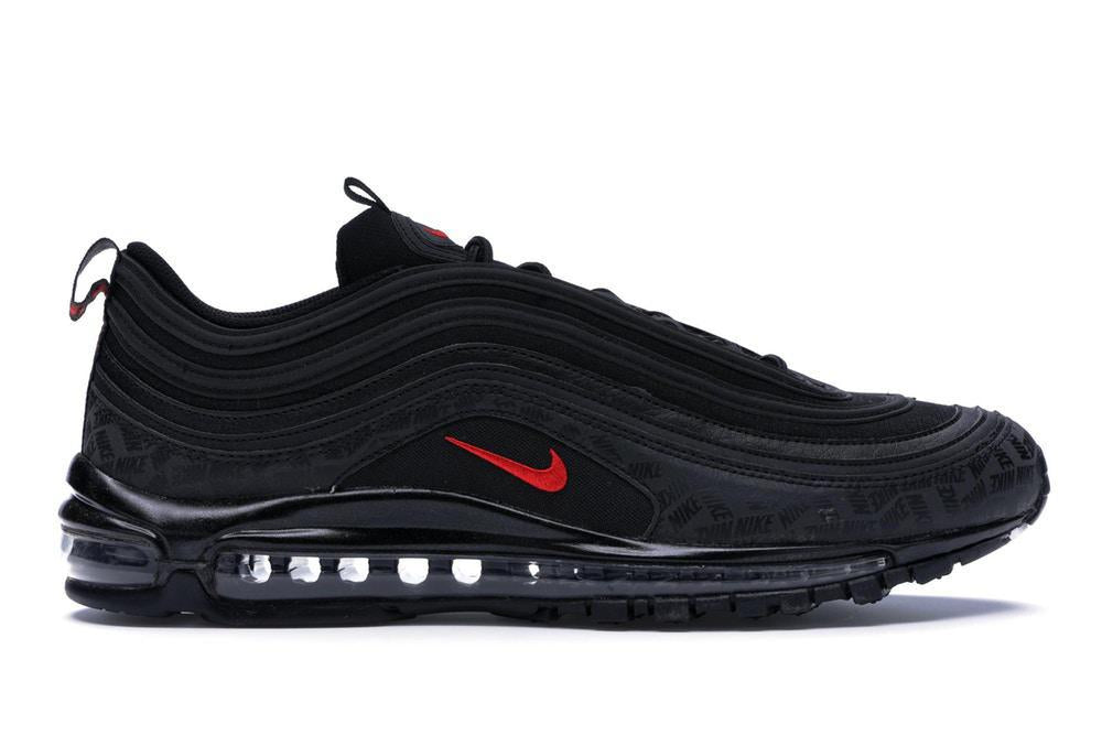 Air Max 97 All-Over Print Black Red