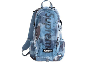 Supreme Backpack (SS20) Blue Chocolate Chip Camo