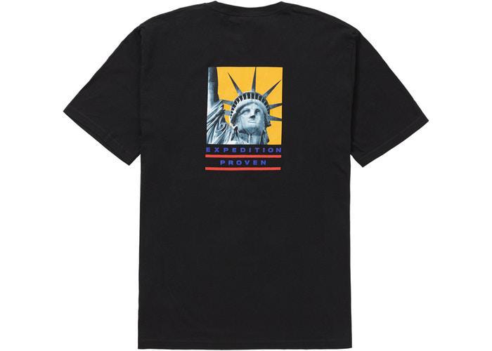 Supreme The North Face Statue of Liberty Tee Black