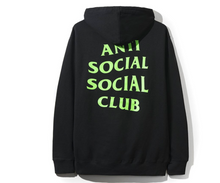 Load image into Gallery viewer, ANTI SOCIAL SOCIAL CLUB ASSC PROCESSING HOODIE BLACK
