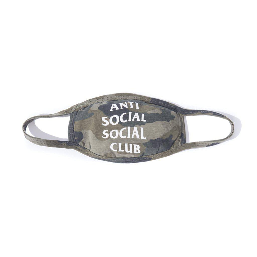Anti Social Social Club Face Mask Camo