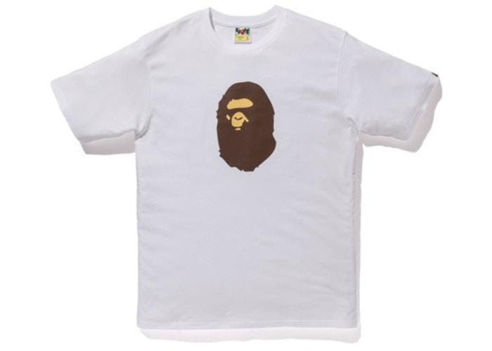 Bape Summer Bag 2019 Ape Head Tee White