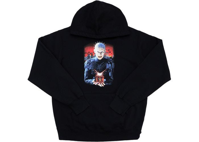 Supreme Hellraiser Hell on Earth Hooded Sweatshirt (SS18) Black