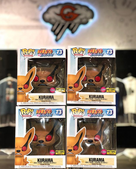 Funko Pop! Naruto Shippuden Kurama flocked (Hot Topic exclusive)