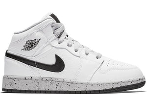Jordan 1 Mid White Cement (GS)