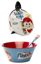 Load image into Gallery viewer, FunkO's Cereal Bowl & Spoon