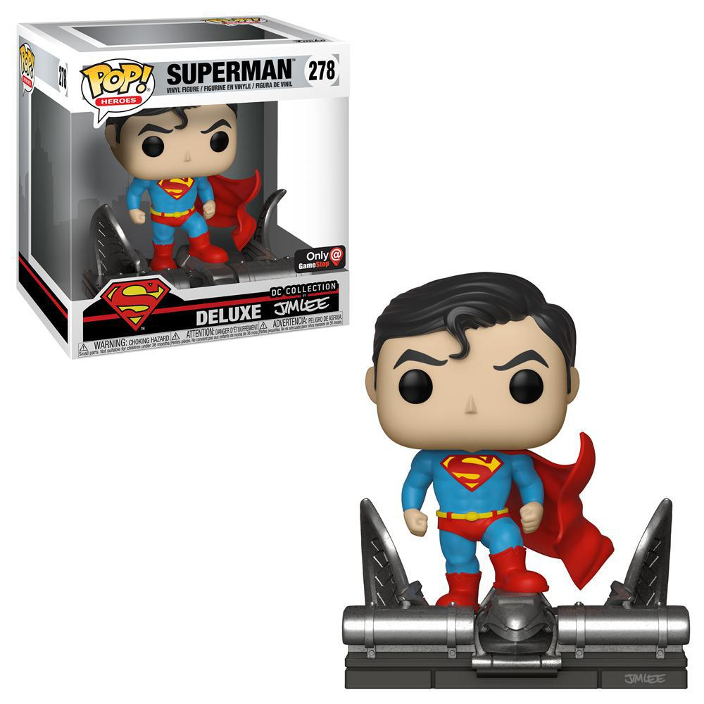 FUNKO POP! Heroes: Deluxe Jim Lee Collection - Superman