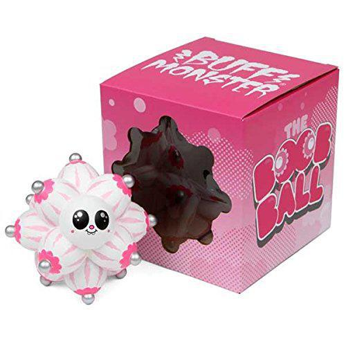 Buff Monster White Edition Boob Ball Vinyl Figure By Designer Con Dcon 2012