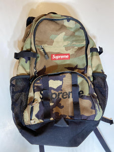 FW15 Supreme Camo Backpack (Pre - Owned)