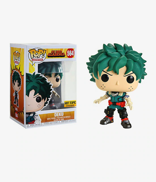 FUNKO MY HERO ACADEMIA POP! ANIMATION DEKU VINYL FIGURE HOT TOPIC EXCLUSIVE