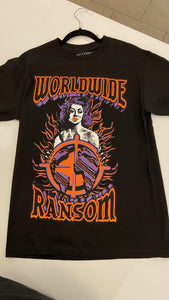 Worldwide Ransom Girl Tee