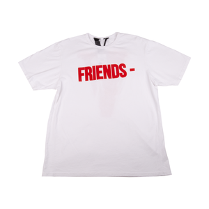 Vlone White/Red Friends Tee (Pre - Owned)