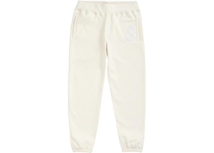 Supreme S Logo Sweatpant Natural