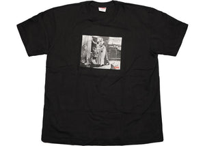 Supreme Mike Kelley Hiding from Indians Tee Black