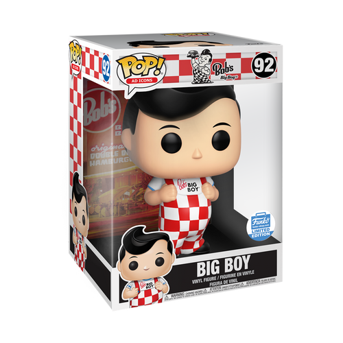 Funko Pop! Big Boy (Ad Icons) 10 inch exclusive