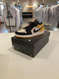 Jordan 1 Low Sail University Gold Black Pre Owned