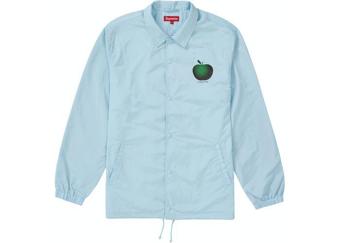 Supreme Apple Coaches Jacket Ice Blue