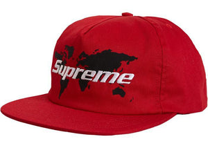 Supreme World 5 Panel Red