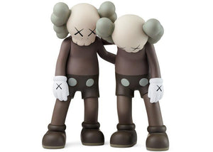 Kaws Along The Way Vinyl Figure Brown