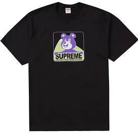 Supreme Bear Tee Black