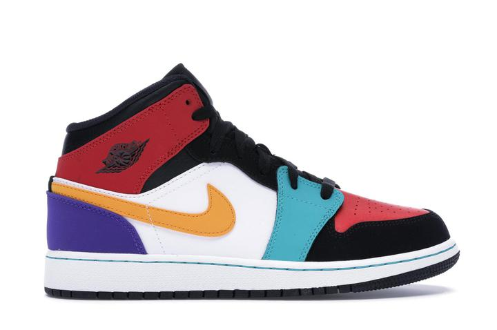Jordan 1 Mid Bred Multi-Color (GS)