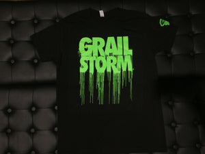 Grailstorm Dripped Tee's Green