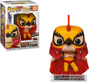 POP! Conan: Conan Without Borders - Conan O'Brien (Luchador)