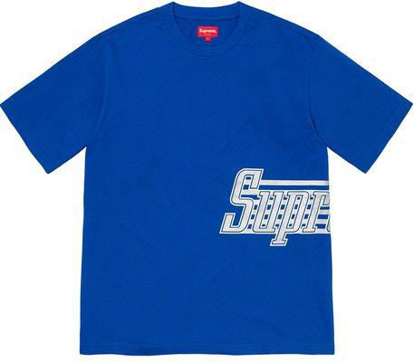 Supreme Side Logo S/S Top Royal