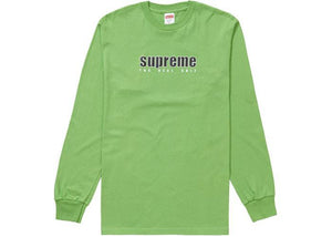 Supreme The Real Shit L/S Tee Green