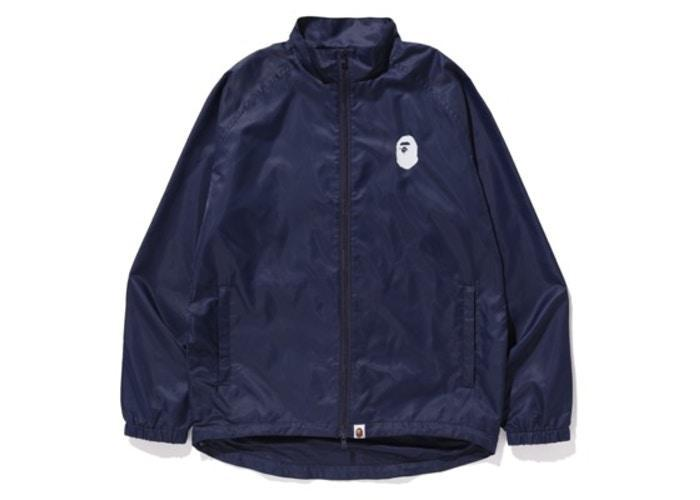 Bape Summer Bag 2019 Zip-up Jacket Navy