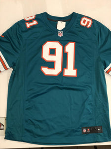 Miami Dolphins Jersey Wake #91
