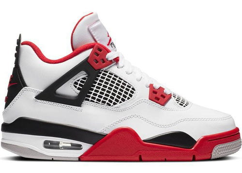 Jordan 4 Retro Fire Red 2020 (GS)