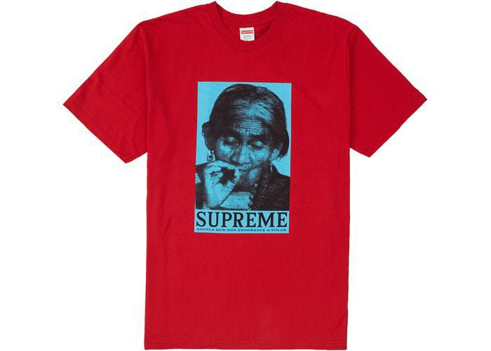 Supreme Aguila Tee Red