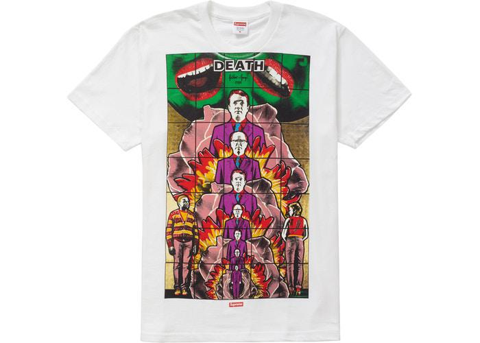Supreme Gilbert & George DEATH Tee White