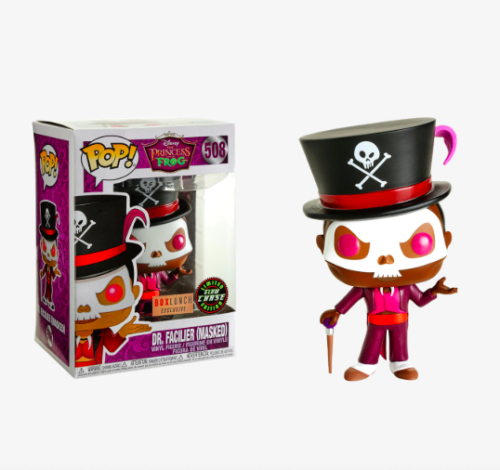 Funko Pop Disney: Dr. Facilier (Masked) Box Lunch Exclusive chase