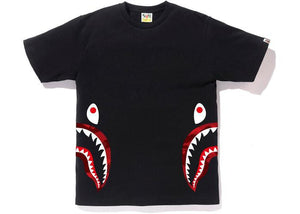 BAPE Color Camo Side Shark Tee Black/Red