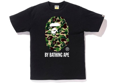 BAPE ABC By Bathing Tee Black/Green