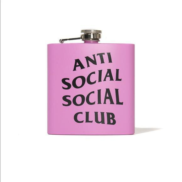 Anti Social Social Club Flask