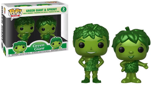 Funko POP! Ad Icons Green Giant & Sprout Exclusive Vinyl Figure 2-Pack
