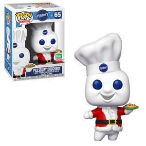 Pop! Vinyl Pop! Ad Icons Pillsbury Doughboy (Santa Suit)