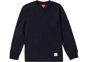 Supreme Trademark L/S Top Black