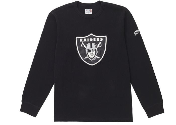Supreme NFL x Raiders x '47 Thermal Black