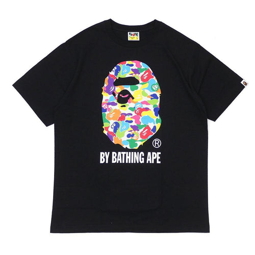 Bape By Bathing Ape Tee Baby Milo Multi Camo Black