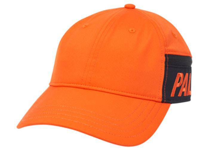 Palace Pocket Shell 6-Panel Orange