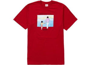 Supreme Heaven And Earth Tee Red