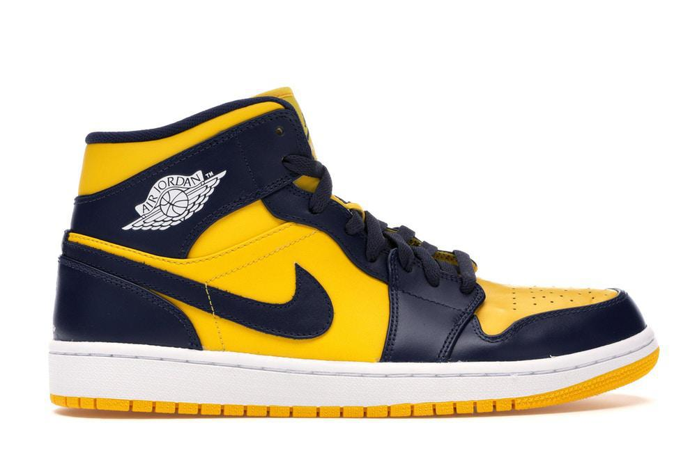 Jordan 1 Mid Michigan (Pre - Owned)