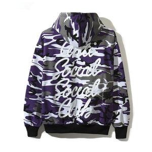 Options Purple Camo Hoodie - Anti Social Social Club