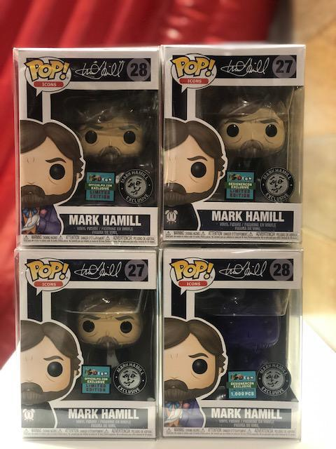 Mark Hill Funko Pop DesignerCon Exclusive Set