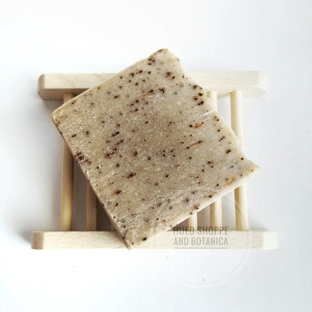 Minty Coffee Scrub Soap
